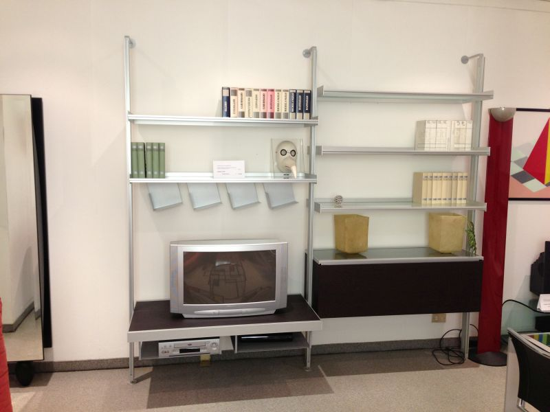 Libreria longhi vertical rassegna contemporanei d 39 arredo for Pedretti arredamenti