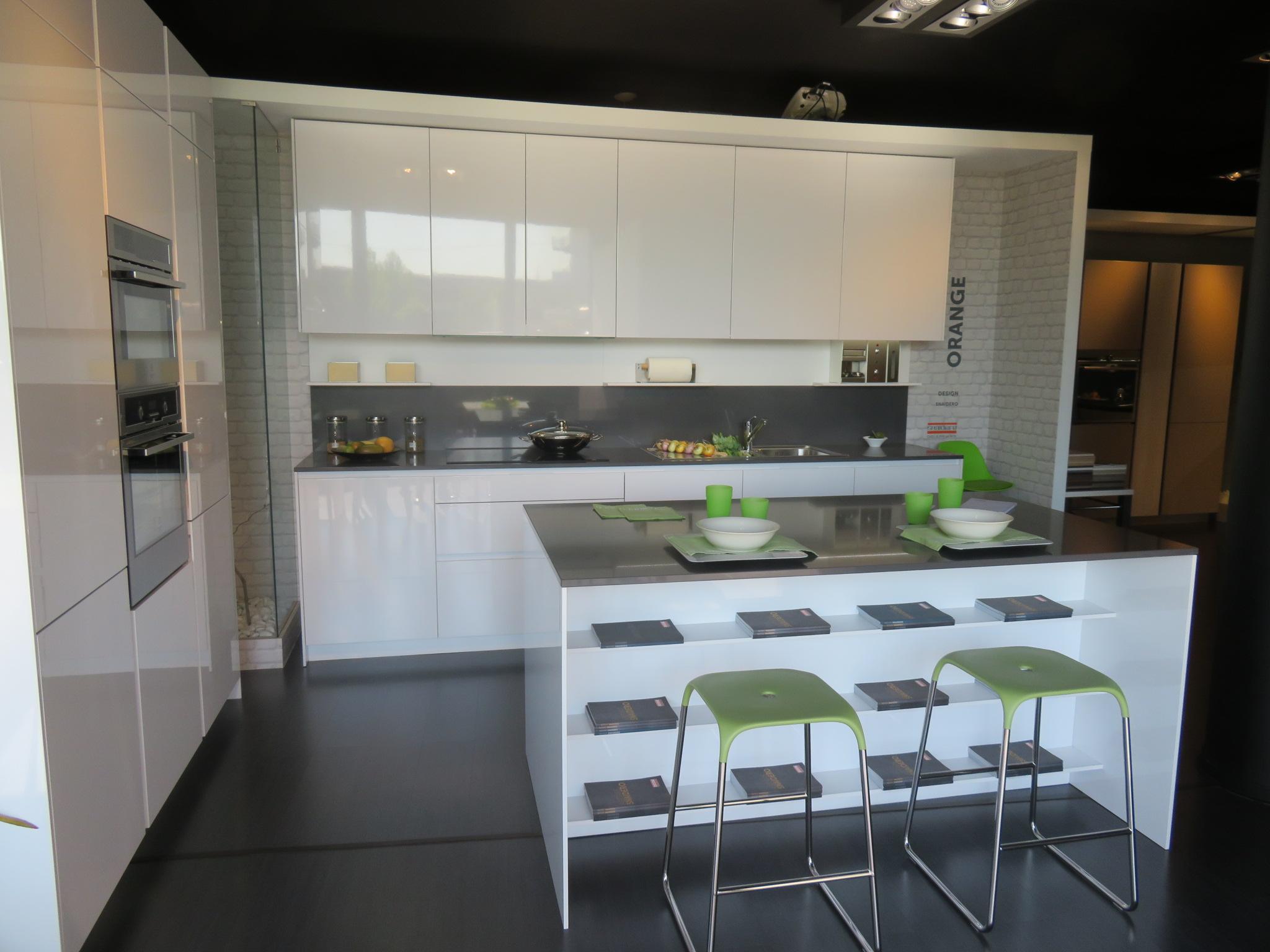 Cucina Snaidero modello Orange - Rassegna Contemporanei d\'Arredo
